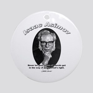 Isaac Asimov 02 Ornament (Round)