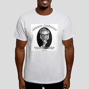 Isaac Asimov 02 Ash Grey T-Shirt