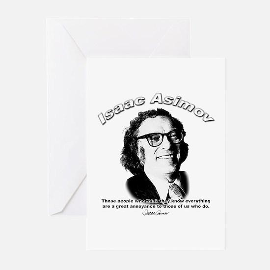 Isaac Asimov 03 Greeting Cards (Pk of 10)