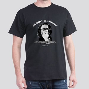 Isaac Asimov 03 Black T-Shirt
