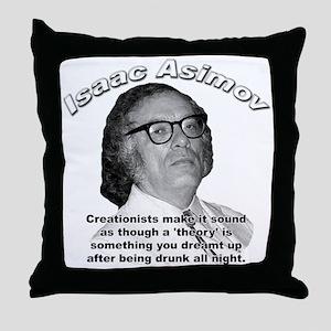 Isaac Asimov 04 Throw Pillow