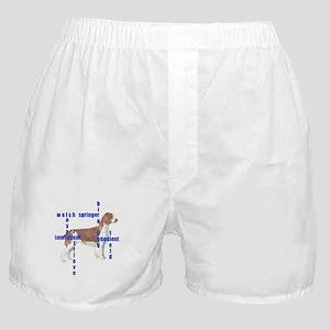 Welsh Springer spaniel Crossw Boxer Shorts