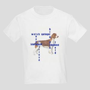 Welsh Springer spaniel Crossw Kids T-Shirt