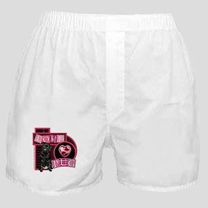 Love Pug Boxer Shorts