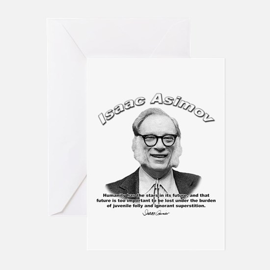 Isaac Asimov 05 Greeting Cards (Pk of 10)