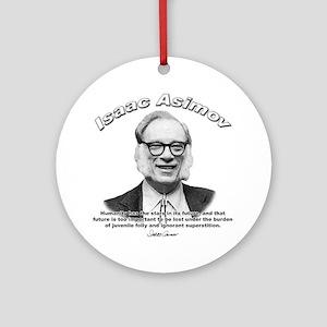 Isaac Asimov 05 Ornament (Round)