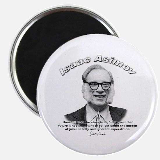 "Isaac Asimov 05 2.25"" Magnet (100 pack)"