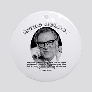 Isaac Asimov 06 Ornament (Round)