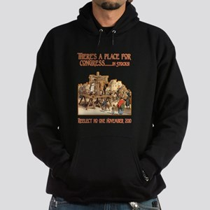 There's a Place for Congress- Hoodie (dark)
