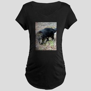 Bearcat Maternity Dark T-Shirt