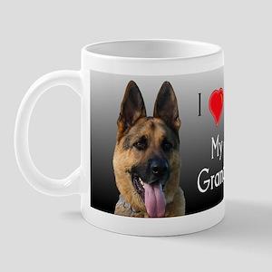 I love Grandma German Shepherd Mug