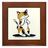 Cat lover Framed Tiles