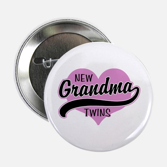 "New Grandma Twins 2.25"" Button"