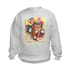 Blame it on the Dog Kids Sweatshirt