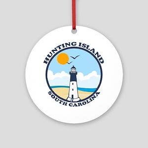 Hunting Island - Sand Dollar Design Ornament (Roun