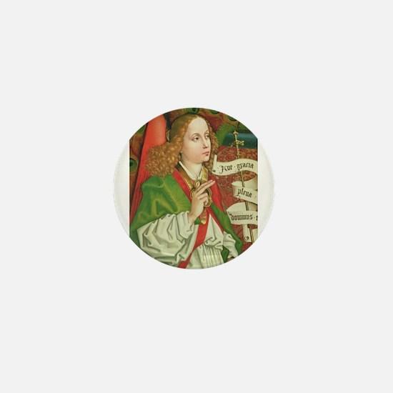 Archangel Gabriel - Annunciation - Sch Mini Button
