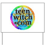 TeenWitch.com Yard Sign