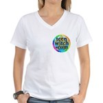 TeenWitch.com Women's V-Neck T-Shirt