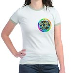 TeenWitch.com Jr. Ringer T-Shirt