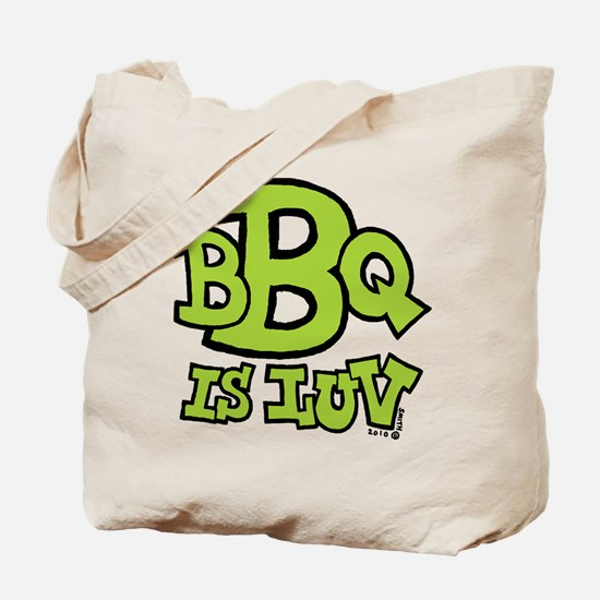 BBQ is Luv Tote Bag