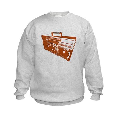 Music Stereo Kids Sweatshirt