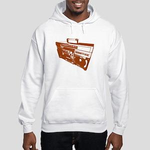 Music Stereo Hooded Sweatshirt