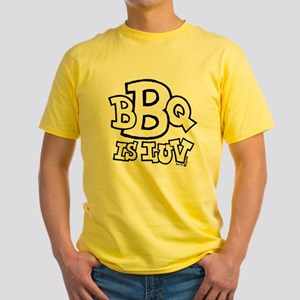BBQ is Luv Yellow T-Shirt