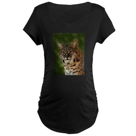 Bobcat Maternity Dark T-Shirt