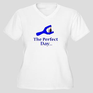 slingshots Women's Plus Size V-Neck T-Shirt