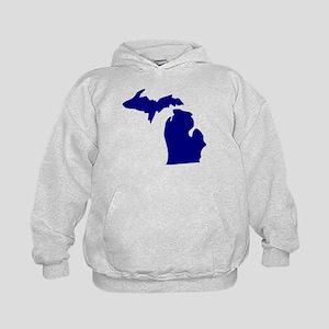 Michigan Kids Hoodie