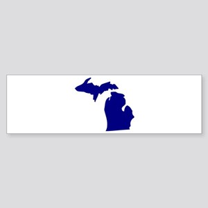 Michigan Sticker (Bumper)