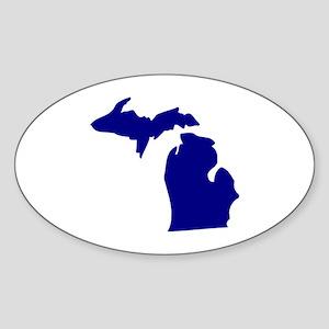 Michigan Sticker (Oval)