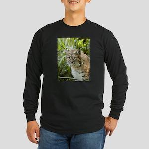 Bobcat Long Sleeve Dark T-Shirt