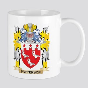 Patterson Family Crest - Coat of Arms Mugs