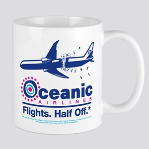 Oceanic. Flights. Half Off. Mug