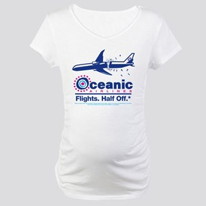 Oceanic. Flights. Half Off. Maternity T-Shirt