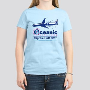 Oceanic. Flights. Half Off. Women's Light T-Shirt
