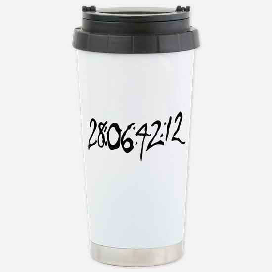 End Of World Stainless Steel Travel Mug