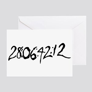 End Of World Greeting Card