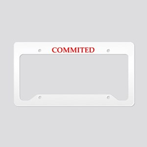 excellence License Plate Holder