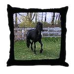 Baron Trot Throw Pillow