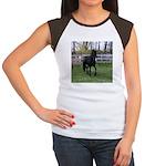 Baron Trot Women's Cap Sleeve T-Shirt