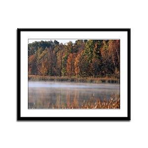 Foggy fall mornin' on the lake