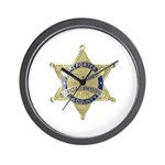 District Attorney Reporter Wall Clock