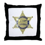 District Attorney Reporter Throw Pillow