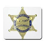 District Attorney Reporter Mousepad