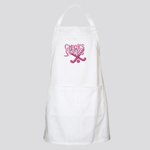Field Hockey Chicks with Sticks Apron