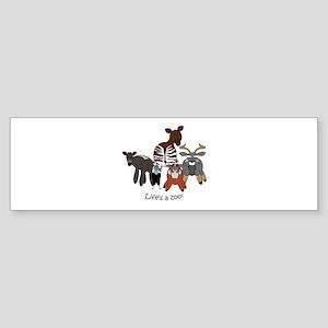 Africa Combo #4 Sticker (Bumper)