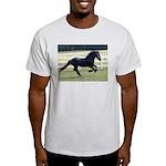 Baron Galloping Ash Grey T-Shirt