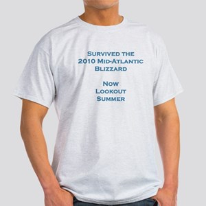 Survived 2010 Blizzard Light T-Shirt